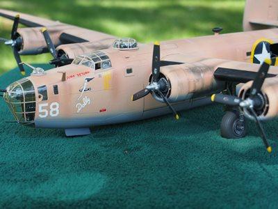 B-24 model I built years ago...