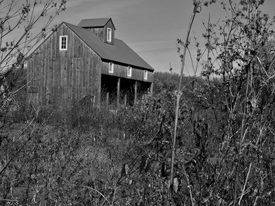 Apple barn at an orchard we visited today...