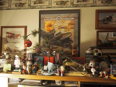 Shelf over my desk