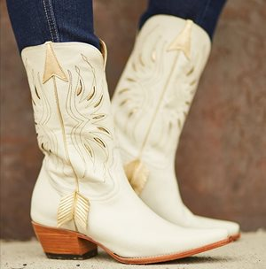 I think these boots are made for dancing!