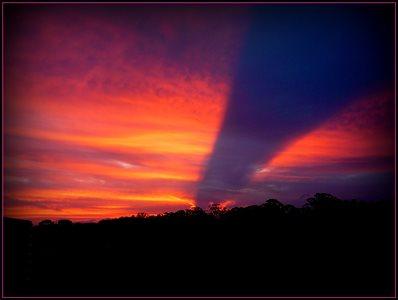 Amazing Weird Sunset