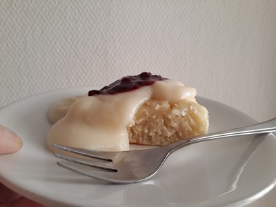 Rice cooker cake, see blog